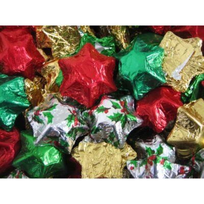 Bulk Christmas Chocolate Stars