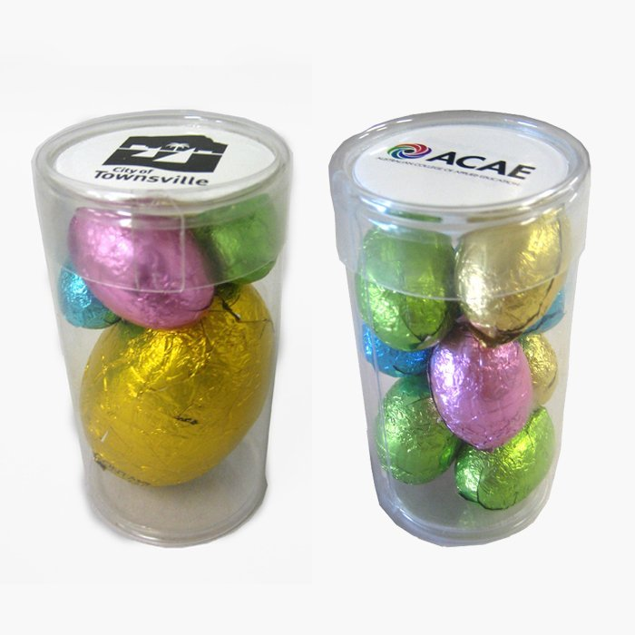 Easter Eggs Plastic Tube