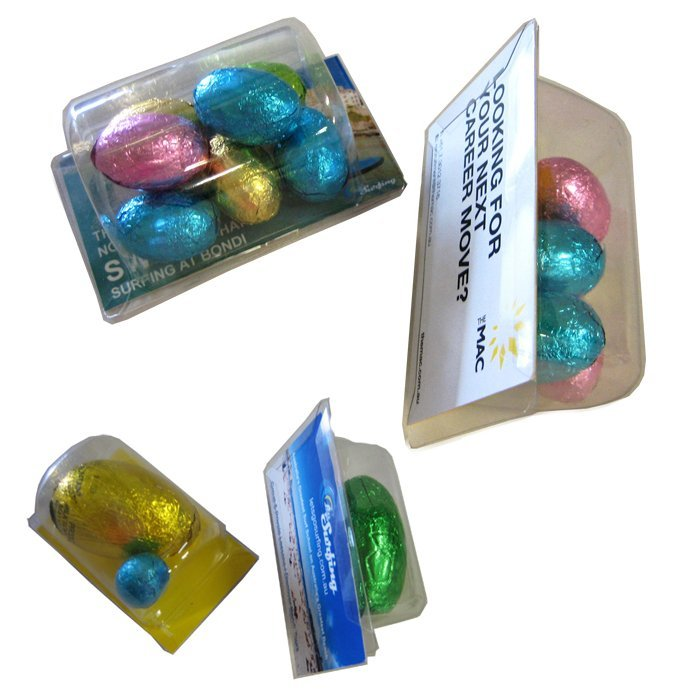 Easter Eggs Biz Card Treats