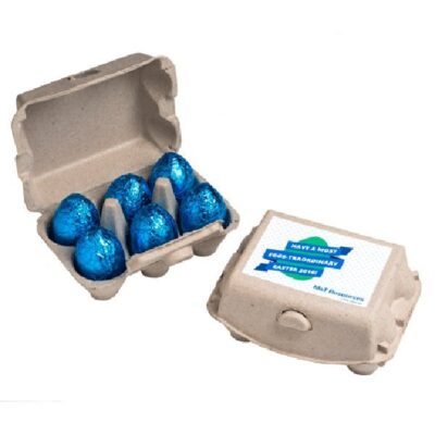 Milk Chocolate Egg Carton