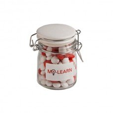 Chewy Fruits Large Glass Jar