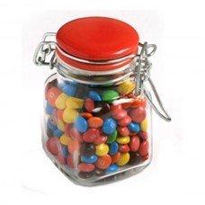 M&Ms Small Glass Jar