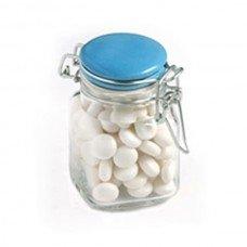 Mints Small Glass Jar