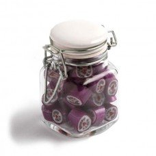 Rock Candy Small Glass Jar