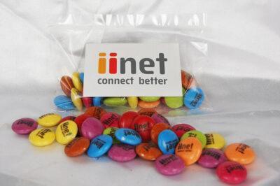 Custom Printed Smarties 25 gram bag