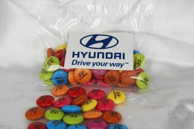 Custom Printed Smarties 50 gram bag