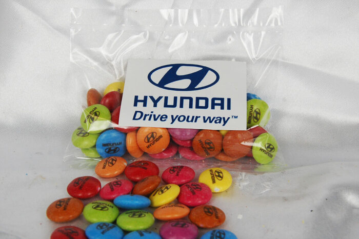 Custom Printed Smarties 50 gram bag