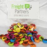 Custom Printed Smarties 50 gram hang sell bag