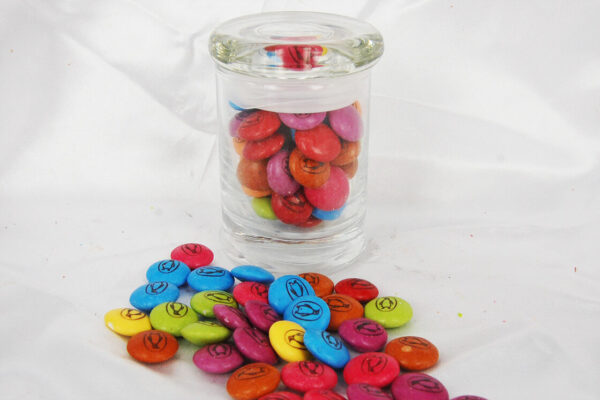 Custom Printed Smarties 60 gram jar