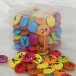 Custom Printed Smarties 70 gram cube