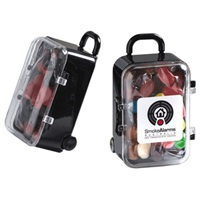 Acrylic Carry-on Case with Jelly Beans 50 Grams