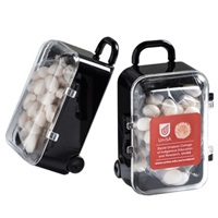 Acrylic Carry-on Case with Mints 50G