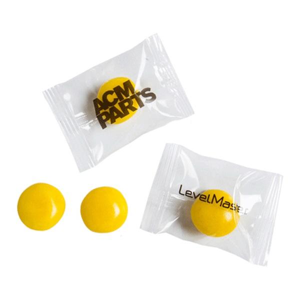 YELLOW Big Chewy Fruits Individually Wrapped