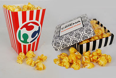 Caramelised popcorn - box