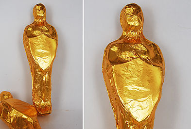 Standard foiled statuette - Large 3D