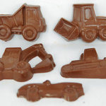 Custom Shaped Medium Chocolate