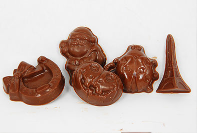 Custom Shaped Small Chocolate