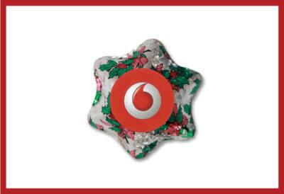 Christmas Holly Chocolate Star