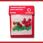 Christmas Mini Jelly Beans Billboard Card 30g