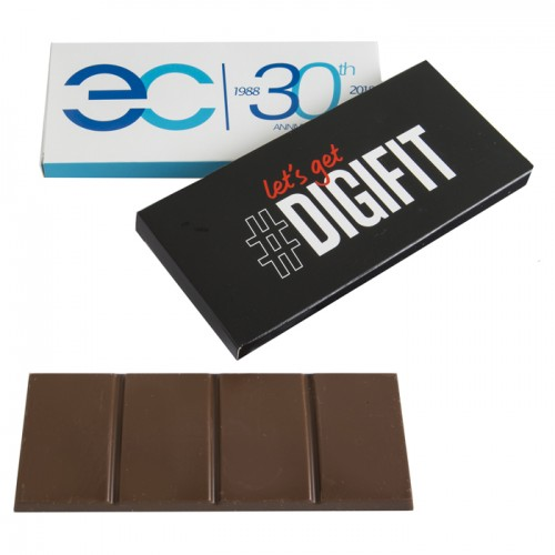 45 gram Custom Printed Chocolate Bar Box
