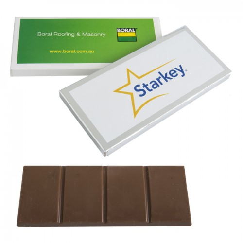45 gram Large Sticker Chocolate Bar Box