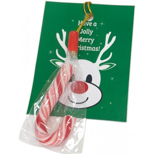 5 gram Candy Cane Card