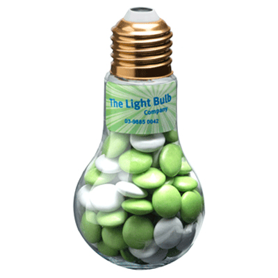 Choc Beans Light Bulb