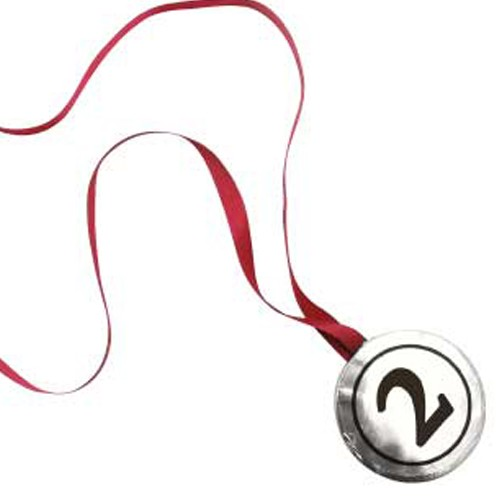 Chocolate Medal Silver