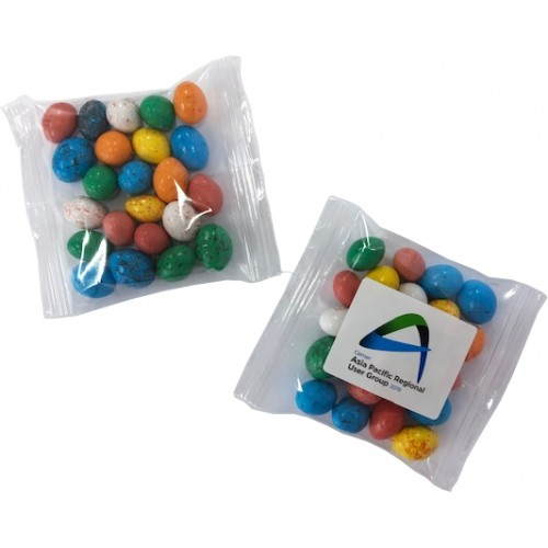 Candy Chocolate Eggs 50 gram bag