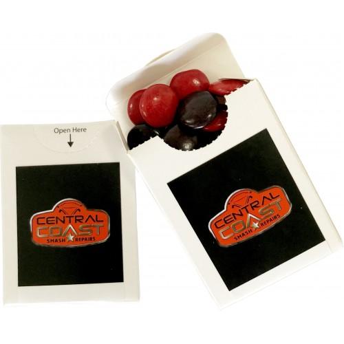 Choc Beans Flip Lid Cardboard Box