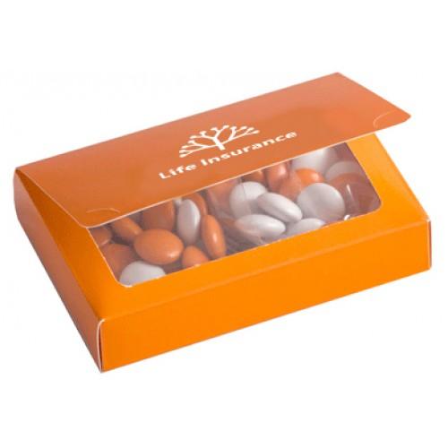 Choc Beans Printed Biz Card Box