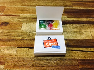 Boiled Lollies Biz Card box