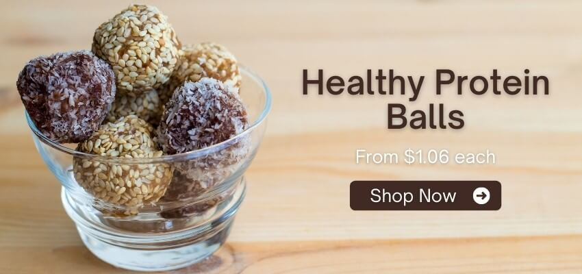 Fast Confectionery Banner - Protein Balls