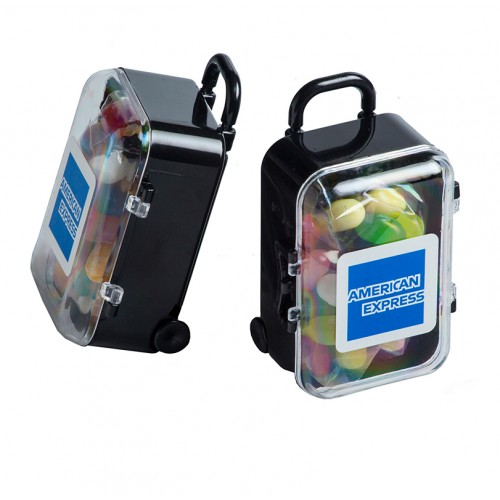 Jelly Belly Acrylic Carry-On Case