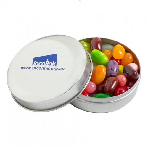 Jelly Belly Round Tin