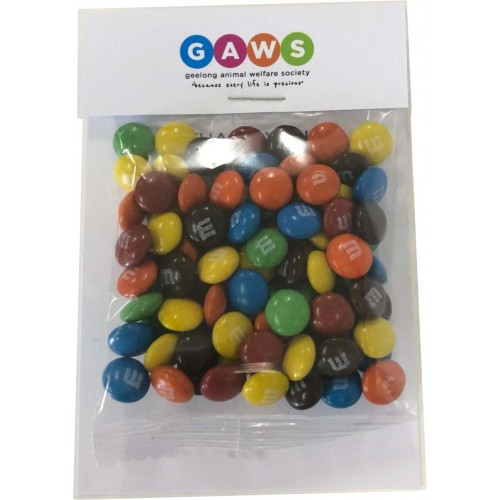 M&Ms 25 gram Billboard Card