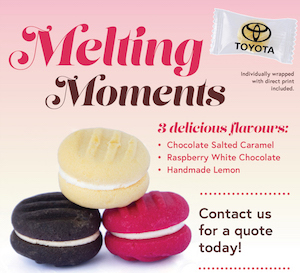 Melting Moments Cookie