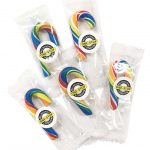 Mini Rainbow Candy Canes