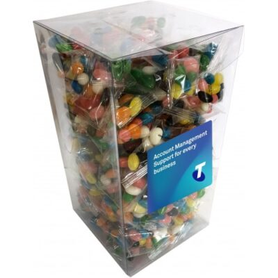 PVC Gift Box with 7g Jelly Bean Bags