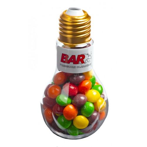 Skittles Light Bulb