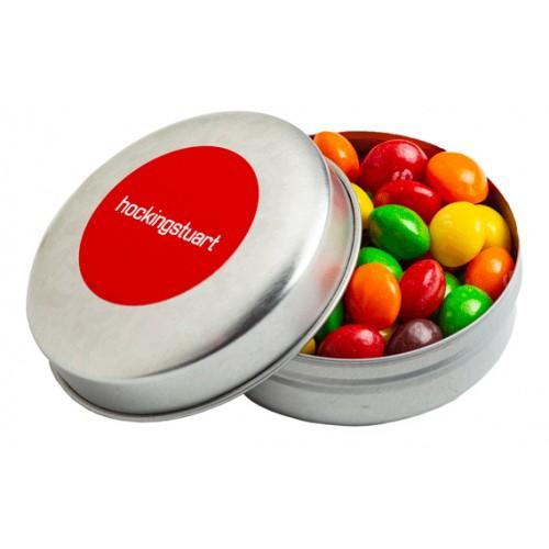 Skittles Round Tin