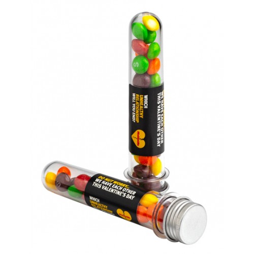 Skittles Test Tube