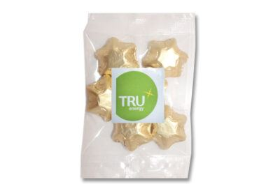 Gold Foiled Stars 50g Bag