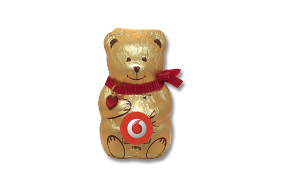Lindt Mini Gold Teddy