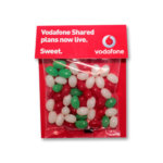 Christmas Mini Jelly Beans Billboard Card 50g